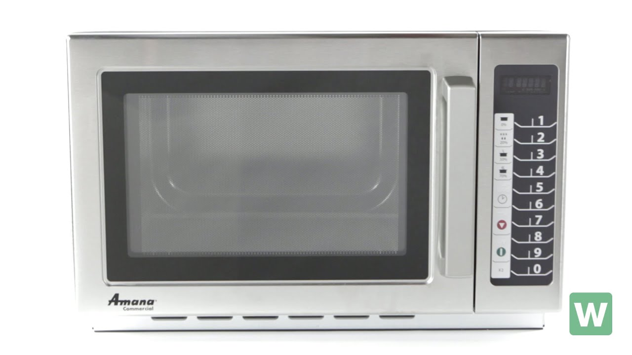 Amana Rcs10ts Stackable Commercial Microwave