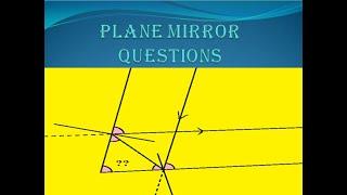 Light Lec-3 plane mirror&properties of light
