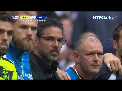 Huddersfield Town v Reading. 2017 Championship Play off Final Penalty shoot-out