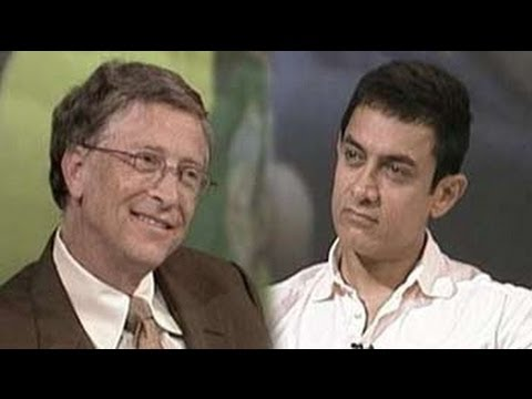 India Questions Bill Gates and Aamir Khan