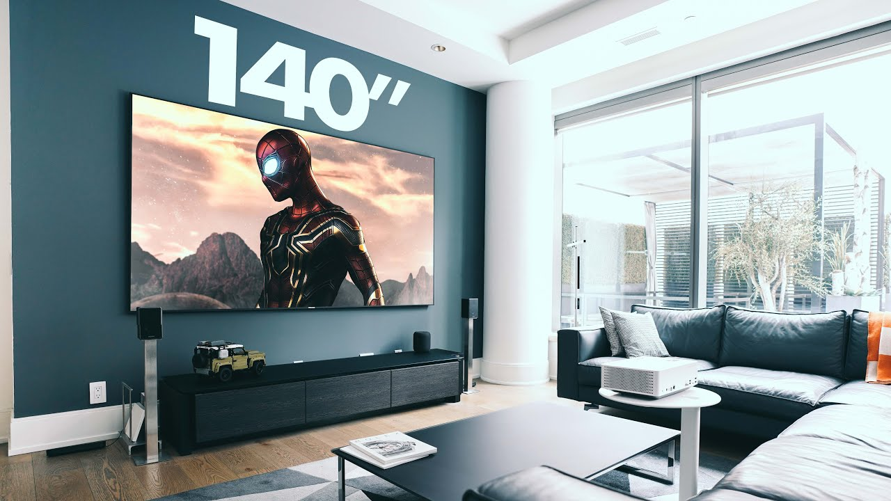 """Download A 140"""" 4K Home Theatre Projector for CHEAP!"""