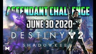 Ascendant Challenge June 30 2020 Solo Guide | Destiny 2 | Corrupted Eggs & Lore Locations New Light