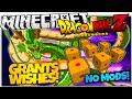 DRAGON BALL Z IN VANILLA MINECRAFT | WISH-GRANTING DRAGON! | No Mods (Minecraft Vanilla Mod)