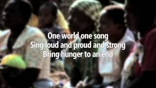 One World One Song - Lyric Video - Dionne Warwick & Joe McElderry