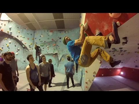 Ben West @ Red Spider climbing