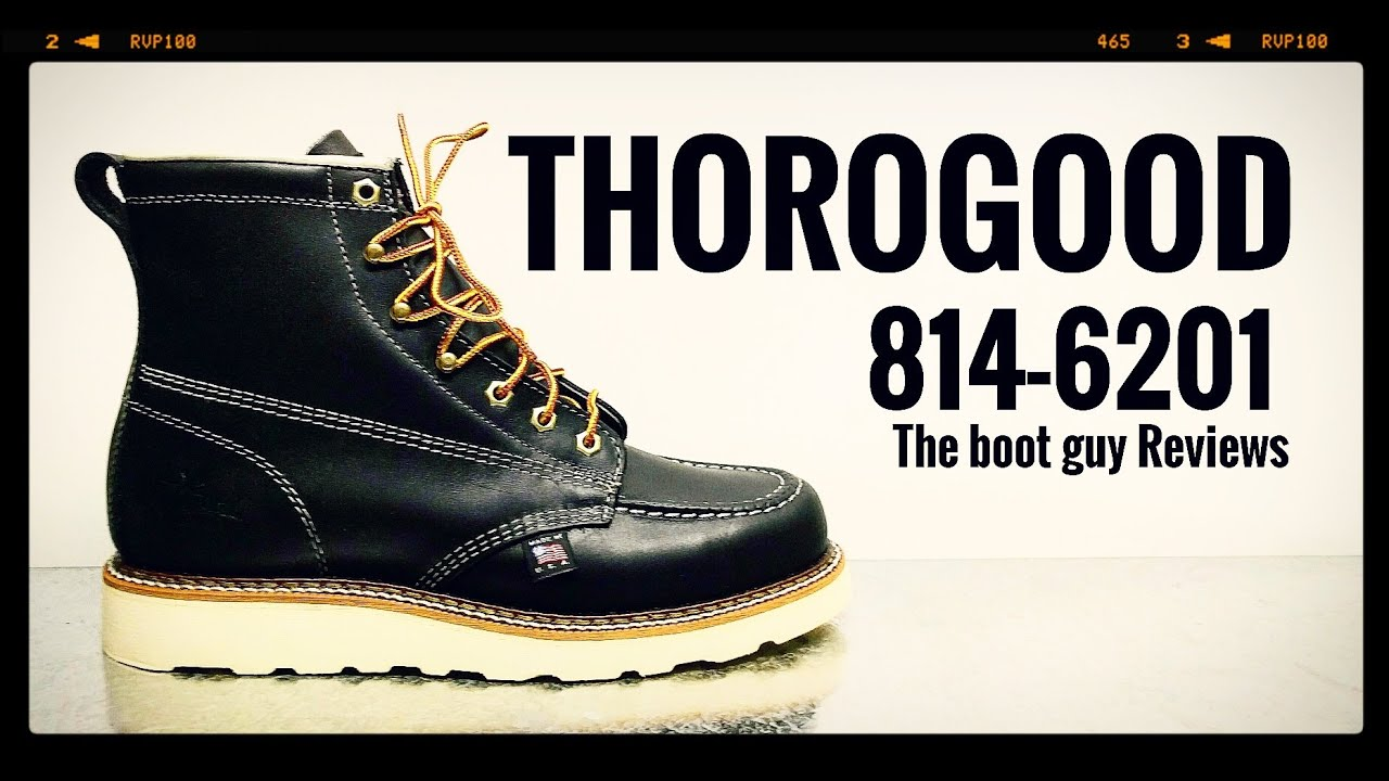 f2b577f744a THOROGOOD #814-6201 BLACK 6