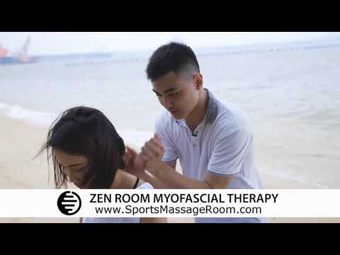 Massage for Stiff Shoulder and Back pain   pain relief therapy for Stiff Shoulder and Back pain