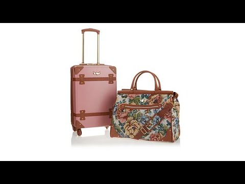 """Destinations 211/2"""" Spinner and Tote 2Piece Luggage Set"""