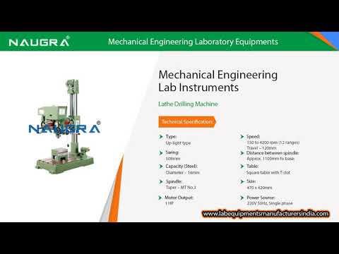Mechanical Engineering Laboratory Equipments Manufacturers