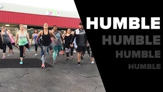 Kendrick Lamar - HUMBLE. (Dance Fitness with Jessica)