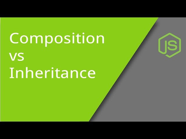 Composition vs Inheritance in JavaScript