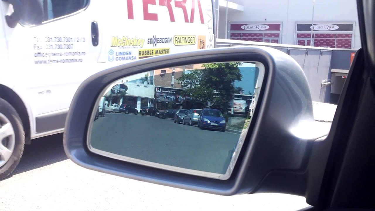 Auto Dimming Side Mirrors Audi A4 B7 Youtube