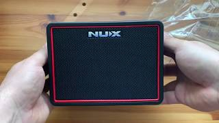 NUX Mighty Lite BT - unboxing