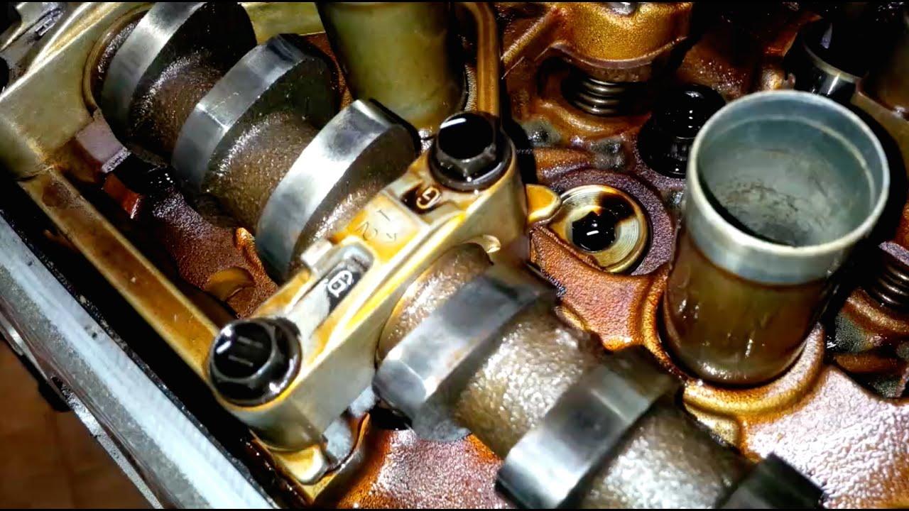 ᴴᴰ(Part 4) Toyota 4AGE 20 valve black top engine rebuild: Engine Head (2/2)