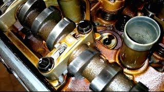 ᴴᴰ(Part 4) Toyota 4AGE 20 valve black top engine rebuild: Engine Head (2/2)