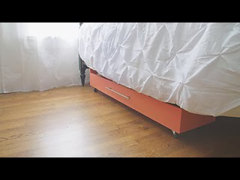 for wooden drawer bedroom drawers make on storage under wheels more bed