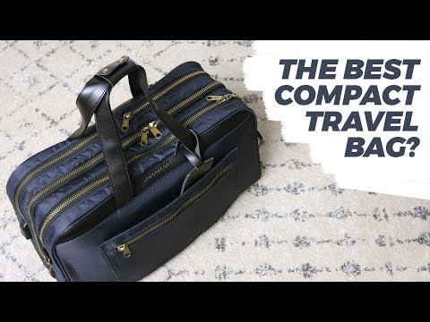 Best Compact Carry-On Bag For Men | One Bag Travel (Nomad Lane Bento Bag Review) • Effortless Gent