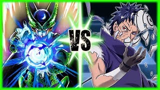 Perfect Cell Vs Obito Uchiha