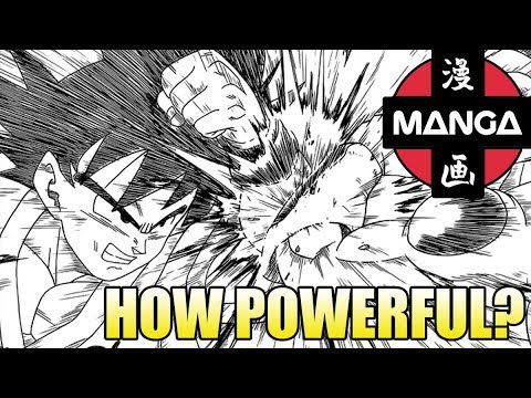 How Powerful is Goku? (Manga Version)