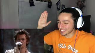 Harry Styles - Falling | REACTION !!! (Live From The BRIT Awards, London 2020)