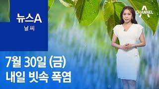[날씨]내일 빗속 폭염…서울 33도·대구 35도 | 뉴…