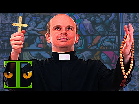 Catholic Priest Confronted by Baptist Preacher