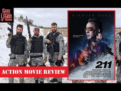 211 ( 2018 Nicolas Cage ) Bank Heist Action Movie Review