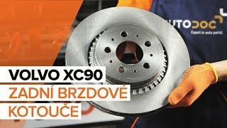 Jak vyměnit Brzdové Destičky на VOLVO XC90 I - online zdarma video