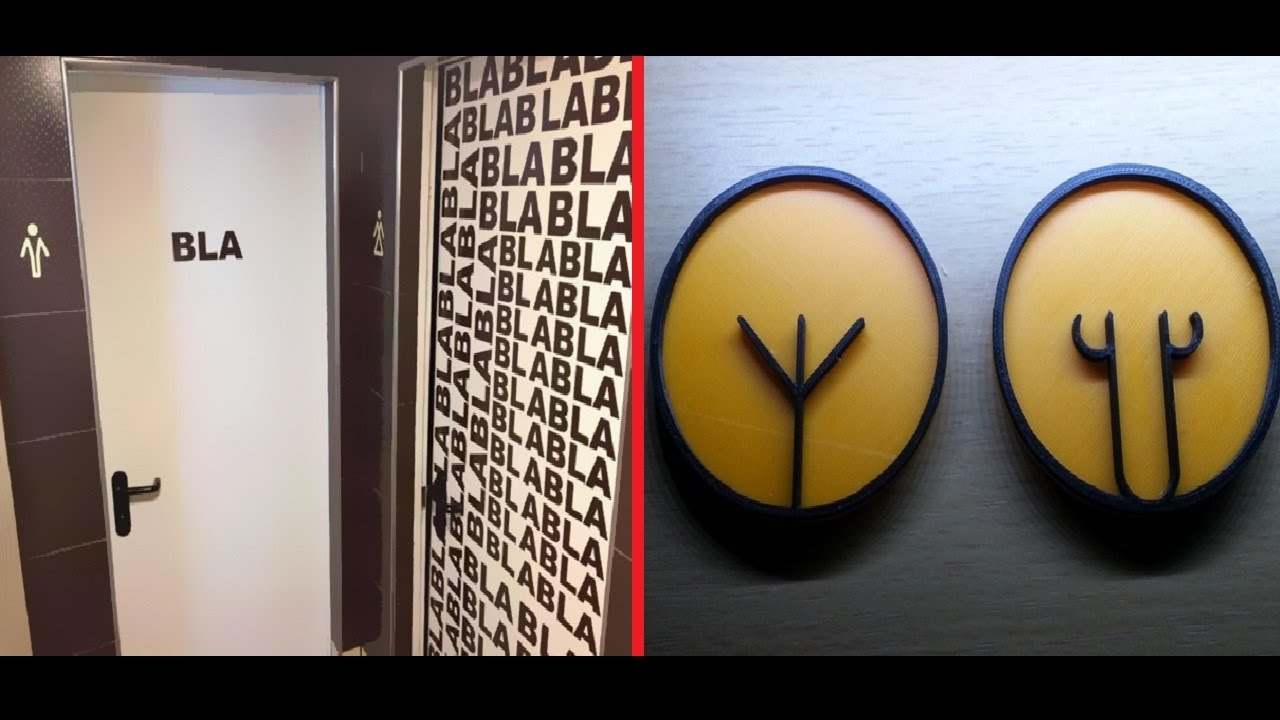 funny and creative bathroom signs around the world youtube