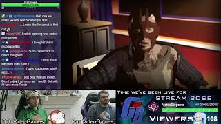 Travis Strikes Again: No More Heroes Livestream [1/2]