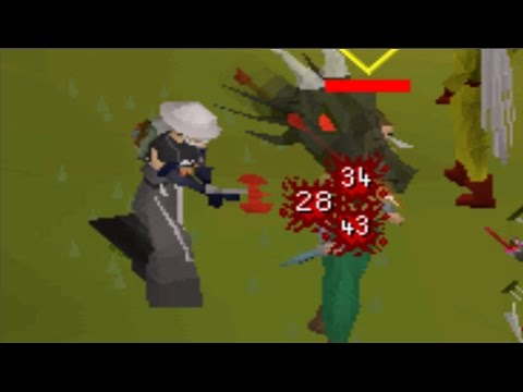 OSRS Dragon Thrownaxe and Dark Bow Void PKing - YouTube
