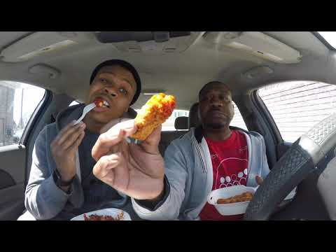 Detroit Wing co  Spicy Challenge Food Review!!!