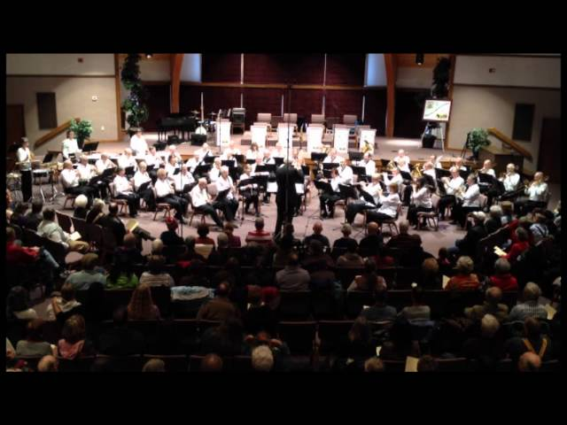 Bill Callen's Pikes Peak New Horizons Band Fall 2013 concert - #1 video.