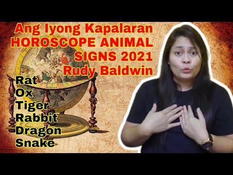 NAKAKAGULAT: KAPALARAN RUDY BALDWIN VISION PREDICTION 2021 SWERTE LOTTO KAALAMAN ANIMAL SIGN PART 1