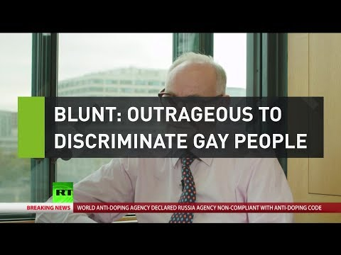 """Blunt: """"Outrageous to discriminate gay people"""""""