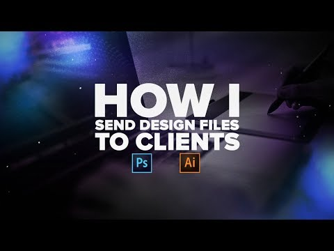 How I Send Design Files to Clients!