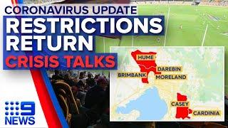 Coronavirus: Victoria's new restrictions, Melbourne lockdown calls