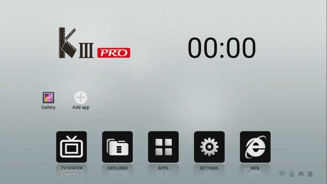 Receiver Mecool KIII Pro Android 6 UHD 4K PowerVu