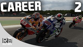 MotoGP 14 Career Mode Part 2 - American GP! (MotoGP 2014 Gameplay Walkthrough)