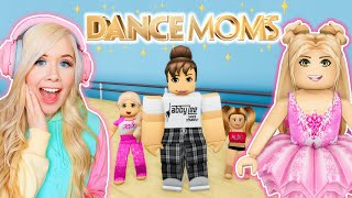 DANCE MOMS IN BROOKHAVEN! (ROBLOX BROOKHAVEN RP)