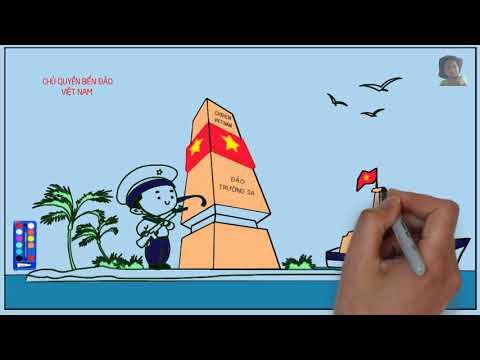 Học vẽ-tô mầu Chú Bộ Đội (Color Painting, Learn Color-Inkscape, VideoScribe)-Part 3