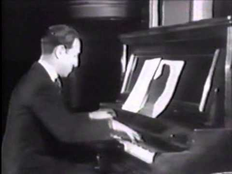 Gibbons plays Gershwin live in Oxford