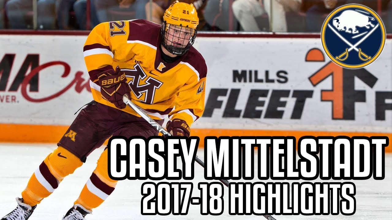 25439deaebe Sabres notes: Casey Mittelstadt focusing on defensive side - Buffalo Hockey  Beat