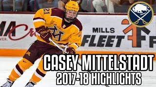 Casey Mittelstadt | 2017-18 Highlights