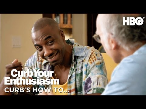 Leon & Larry Discuss How to Organize Phone Contacts   Curb Your Enthusiasm (2017)   HBO
