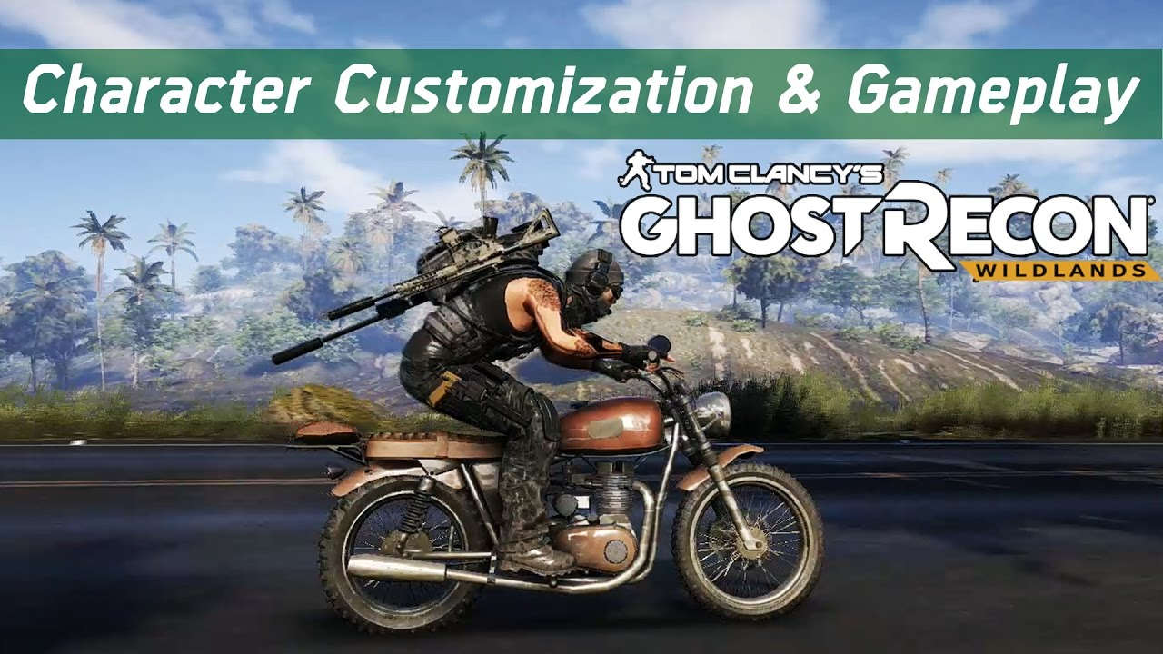 Ghost Recon Wildlands Open Beta Male Character Customization