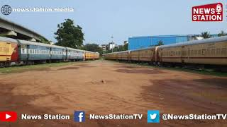 2nd-class passenger rail coaches used for carrying parcels from Vasco-Da-Gama to Kalameshwar