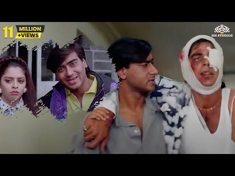 Akshay Kumar & Ajay Devgan funny scene | Suhaag Hindi drama Movie