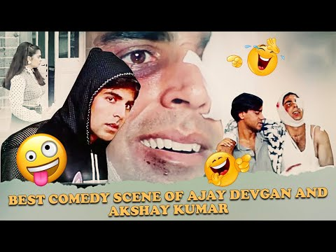 Best Comedy Scene Of Ajay Devgan And Akshay Kumar | Suhaag 1994 Action Movie