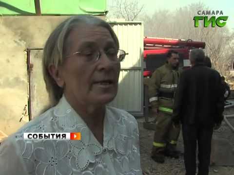 """В районе ТЦ """"Мега-Мебель"""" дотла сгорел частный дом"""